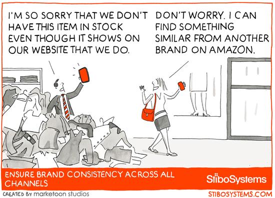 Permettez à vos clients de découvrir votre marque, pas vos canaux